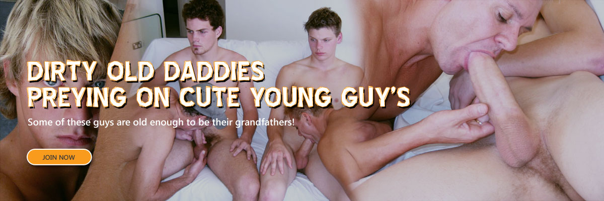 Dirty old daddies preying on cute young guys.